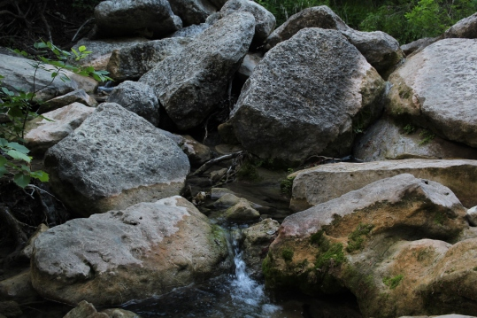 Rocks & Creeks Close Up
